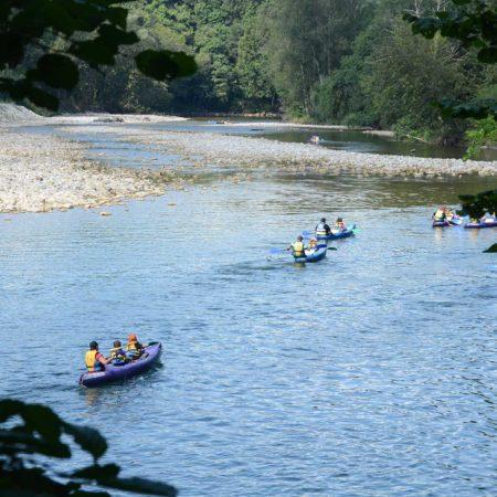 Oferta del descenso del río Sella, grupos de más de 10 personas