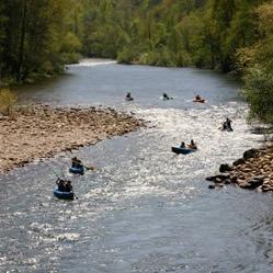 Bajando el río Sella en piragüa