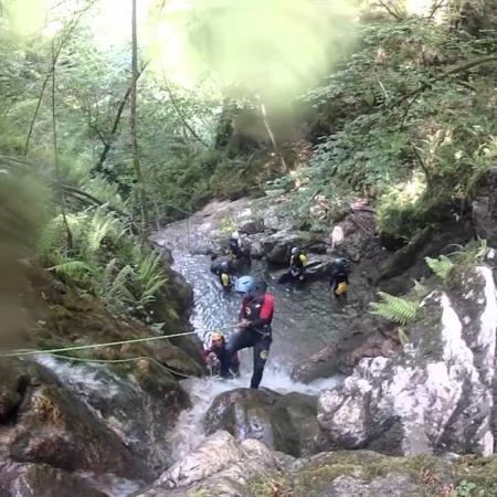 Descendiendo barrancos en Asturias con K2 Aventura