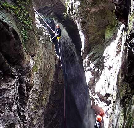 Barranco Viboli en Asturias